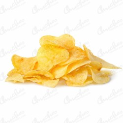 Homemade potato chips 210