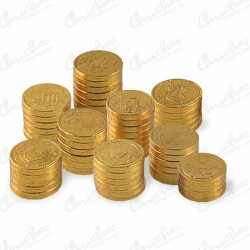 Coins 30 mm milk chocolate
