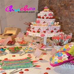 Sweet table 1 multicolored floor 50 diners