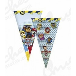 Dog patrol cone bag 40 cm x 20 cm 50 units