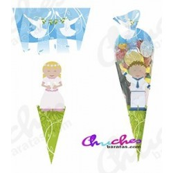 Communion cone bag 40 cm x 20 cm 50 units