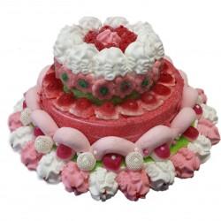 3-tier cake meringues
