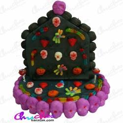 Terror house cake