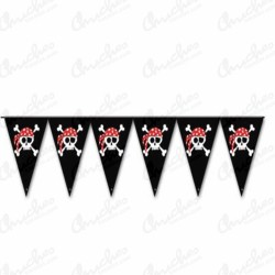 Banderín piratas 3 metros