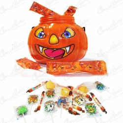 Calabaza rellena chuches top candy  400 g