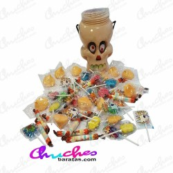 Calaveras rellena chuches top candy  400 g