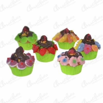 box-cups-cake-6-units-green
