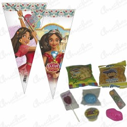 Cone bag Elena de avalor filled with sweets 20 units