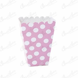 High pop pink polka dot box 12 units