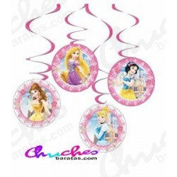 Disney princess decorative pendants 4 units