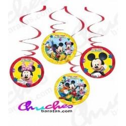 Mikie decorative pendants 4 units