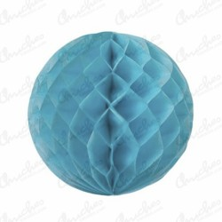 Light blue bee nest paper ball