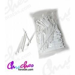 White plastic stick 7 cm 100 units