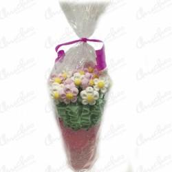 Sweet flowerpot pink daisies