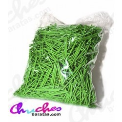 Plastic green stick 7 cm 1900 units