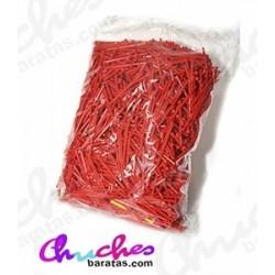 Palo plástico rojo  7 cm 1900 unidades