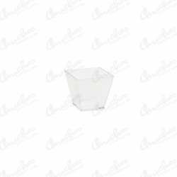 Bowl form cube 59ml (10) transparent
