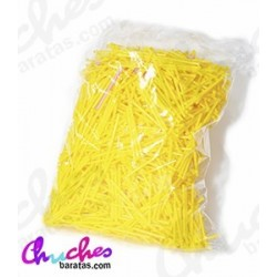 Plastic stick yellow 7 cm 1900 units