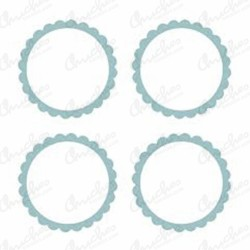 Candy stickers (20) turquoise blue