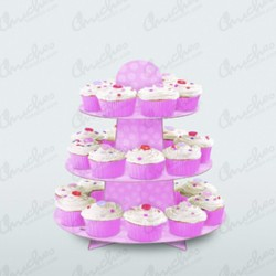 Support Stand for Pink Cupcake