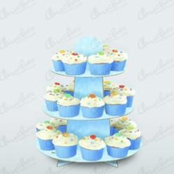 Stand Soporte para Cupcake azul