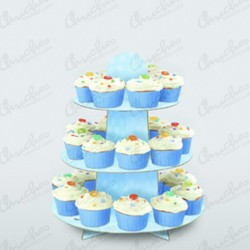 Stand Support for Blue Cupcake