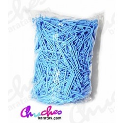 Plastic stick blue 7 cm 1900 units