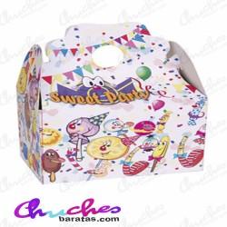 Caja sweet party rellena de chuches