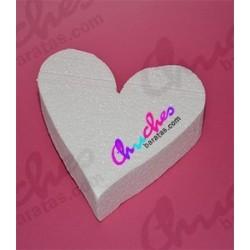 Heart cork 20 cm x 17 cm x 5 cm