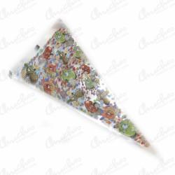 Cone bag sweets 40 x 20 cm 100 pieces