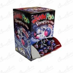 Booom pop Vampire + gum 100 unidades