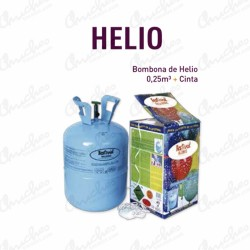 Bombona Helio 0,25 m3 + Cinta