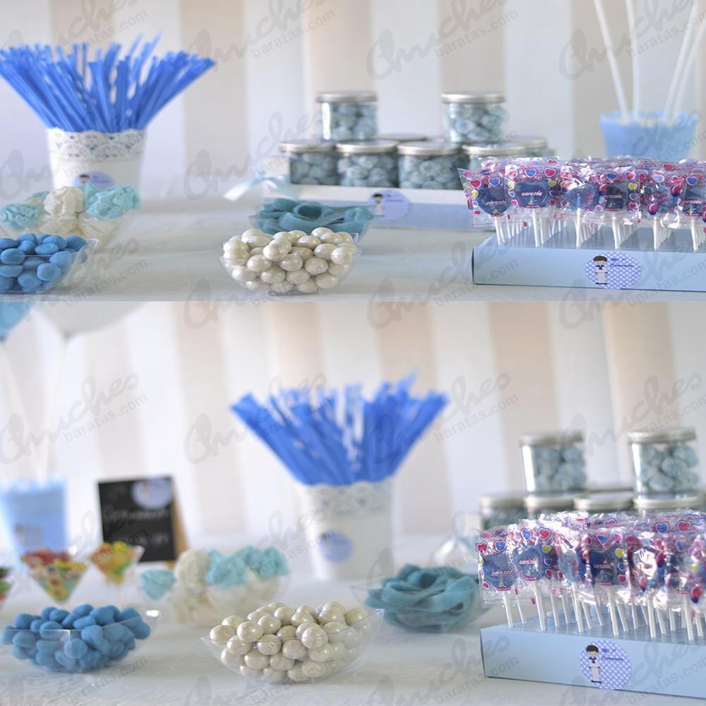 Mesa comui n azul chuches baratas - Mesas para comuniones ...
