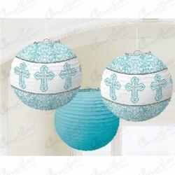 Lanterns communion blue 3 units