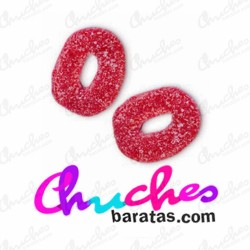 Strawberry hoops 100 gramos