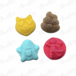 Aerated Emojiroypas 250 pcs