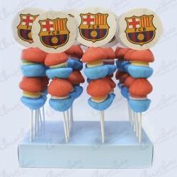 20 skewers Barcelona FC