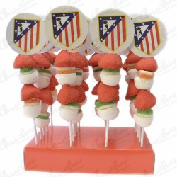 20 skewers Atletico de Madrid