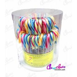 Garrotes de caramelo 72 unidades