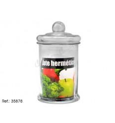 Glass lid jar super 5 L