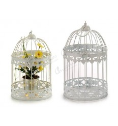 White round forge cage