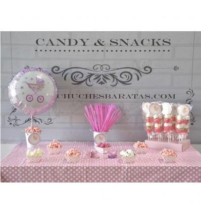 Mesa dulce bautizo ni a for Mesa de dulces para bautizo de nina