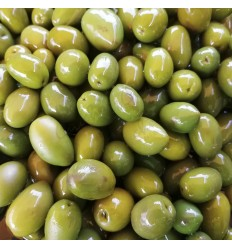 Homemade olive soda