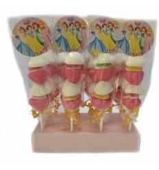 Brochetas princesas disney 20 unidades