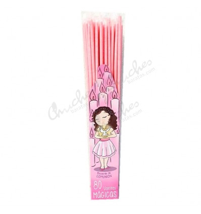 Pink communion wand 80 units