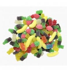 Mix rubber sugar small fini