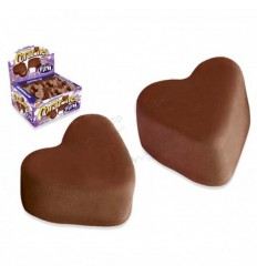 Chocolate hearts fini 75 units