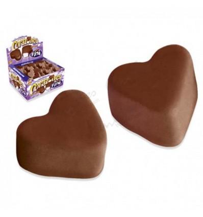 Chocolate hearts fini 75 units