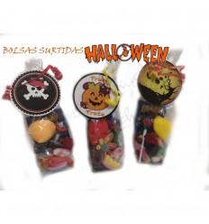 3 bag halloween sweets