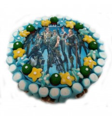 Wafer cake Fortnite 28X8 cm